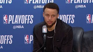 Stephen Curry Postgame Interview - Game 3 | Warriors vs Clippers | 2019 NBA Playoffs