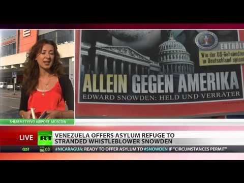 Venezuela Offers Edward Snowden Asylum
