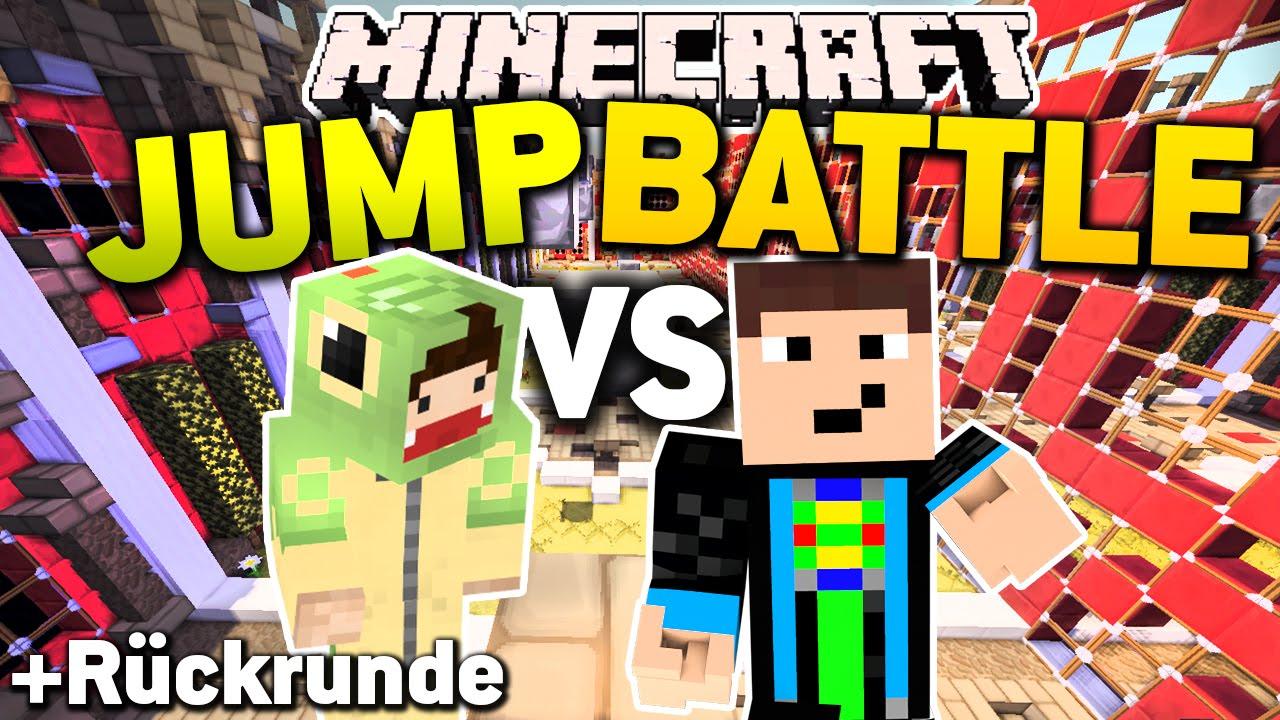 Spannendes Battle! - Minecraft SUPER JUMP BATTLE l GommeHD - YouTube