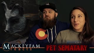 Pet Sematary (2019)- Official Trailer- REACTION and REVIEW!!!