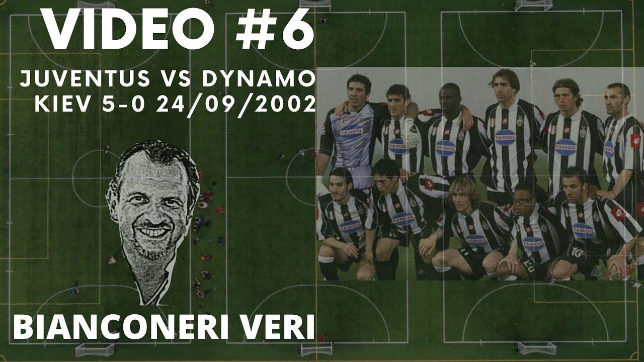 Juventus Vs Dynamo Kiev 5 0 24 09 2002 Youtube