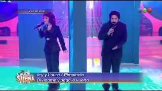 Laura Esquivel y Jey Mammon son Pimpinela - Tu Cara Me Suena (Gala 11)