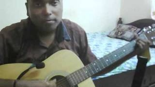 Nenjukkul peidhidum on Guitar by Yuvaraj