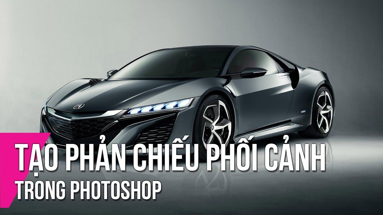 Tạo Phản Chiếu Phối Cảnh Trong Photoshop | Thùy Uyên