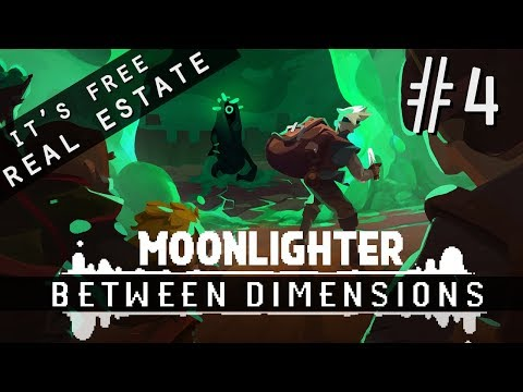 MOONLIGHTER: BETWEEN DIMENSIONS DLC | EP 4: CONQUERING THE FOURTH FLOOR! |