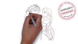 Рапунцель смотреть онлайн  Как быстро нарисовать принцессу Рапунцель карандашом(http://youtu.be/_MEHkyh_b88 Рапунцель запутанная история мультфильм. Как правильно нарисовать рапунцель онлайн поэтап..., 2014-09-18T19:20:00.000Z)