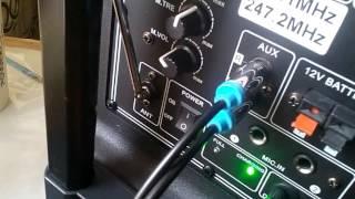 кабель джек 3.5 на тюльпан для портативной колонки посылка из китая