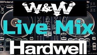 [W&W - Hardwell] Live Mix   Roland DJ-202