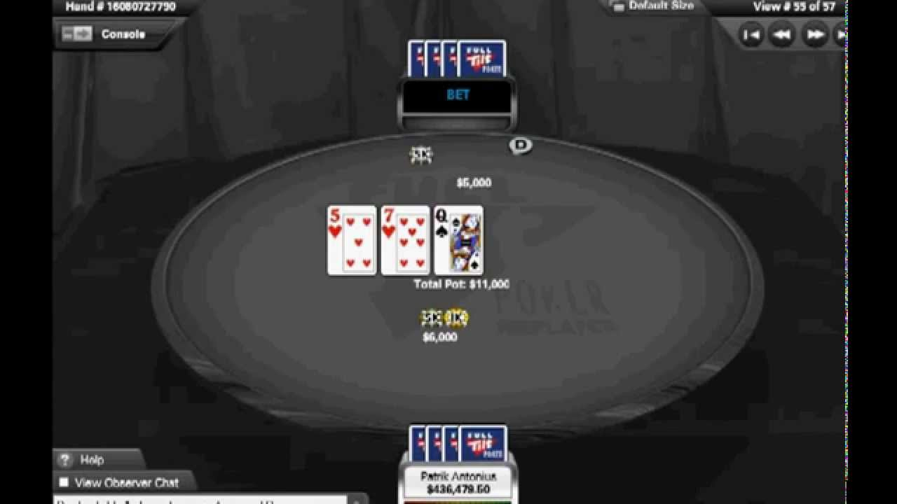 Largest online poker pot how to win in craps game