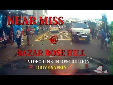 Attention kot Robot Bazar Rose Hill  Near Miss on CrossHere