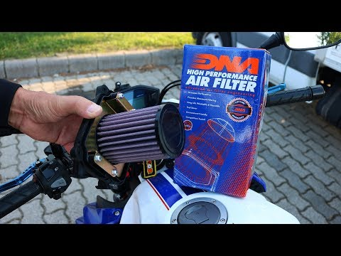 Honda CB500F - DNA Air Filter Installation
