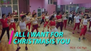 All I want for Christmas is you | Nhảy Zumba | Phạm Ngọc Thạch 18h | Christmas Zumba Party | LaZum3