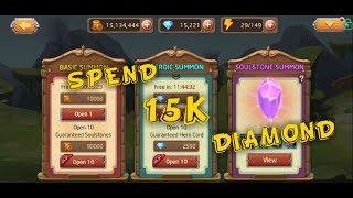HEROES LEGEND - [DOT ARENA RETURN] SPEND 15000 DIAMOND screenshot 4