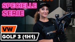 Se en videovejledning til hvordan du udskifter Bærearm på VW EOS
