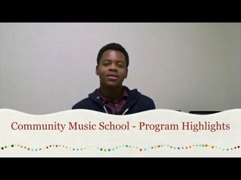 Community Music School - 2015 Highlights