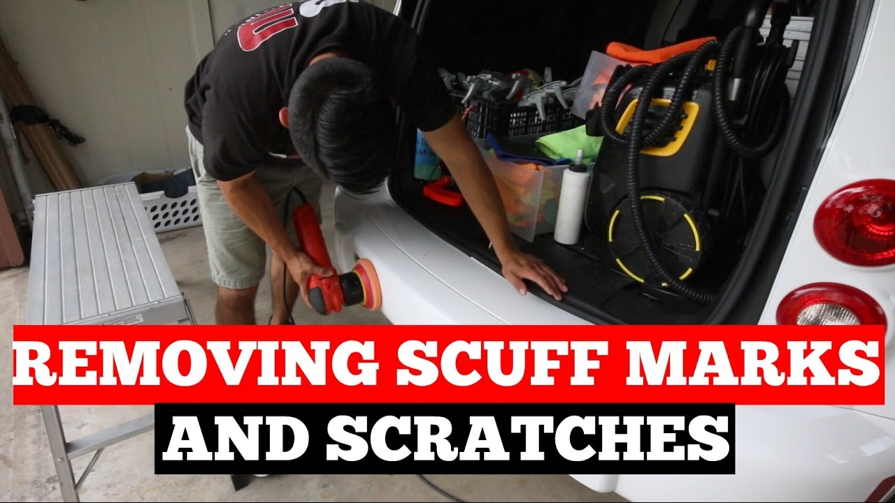 How To REMOVE Paint Scuffs Or Scratches On Car Paint