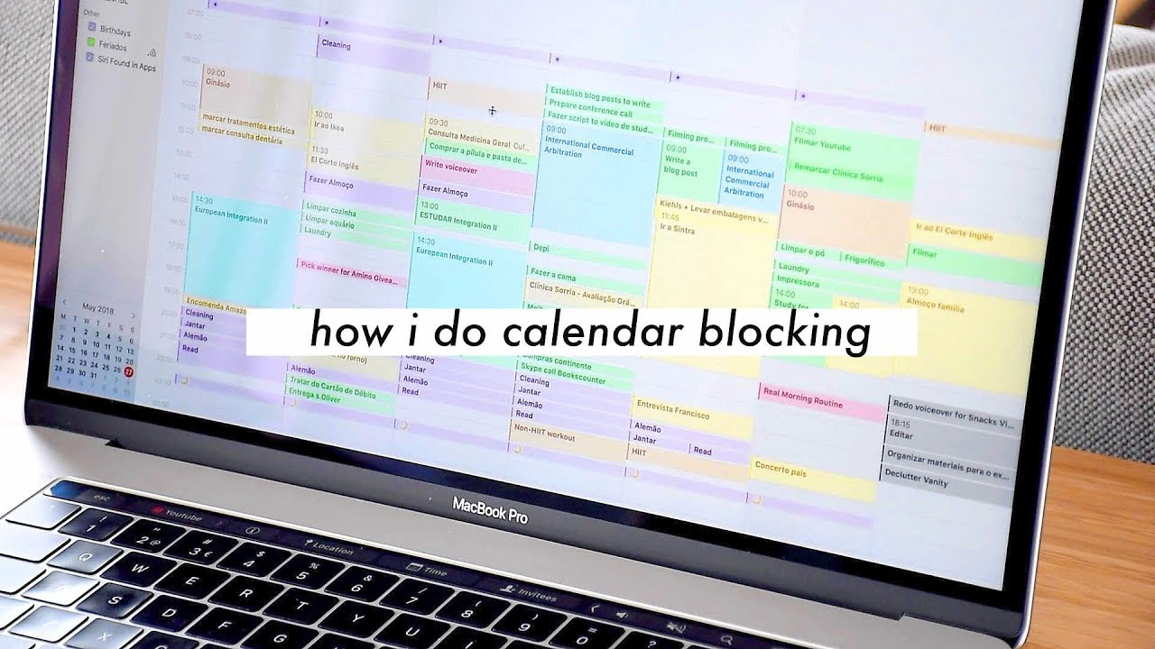 CALENDAR BLOCKING // Time Management for Students