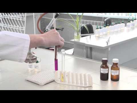 Получение и изучение свойств этилена. Опыт 2