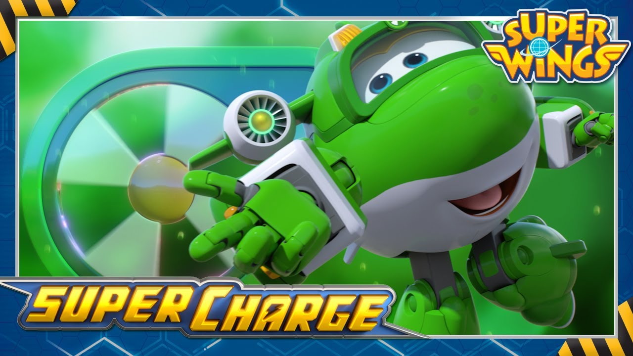 [super wings season4] Supercharged Mira!