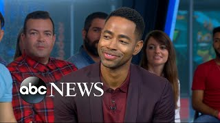 Jay Ellis dishes on 'Insecure' live on 'GMA'