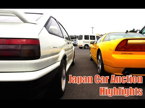 Tokyo Car Auction Walkaround - Thank You Present For Subscribers