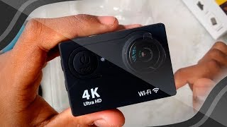 EKEN H9R Ultra HD 4K Action Cam - UNBOXING E TESTE! 📷