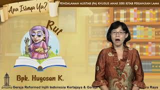 Re Streaming HARI 8 PA KHUSUS ANAK 10 HARI APA ISINYA YA? RUT (Bpk. Hugosan K.)