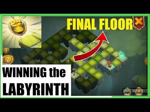 What Does Labyrinth LAST FLOOR Gameplay Looks Like? Castle Clash