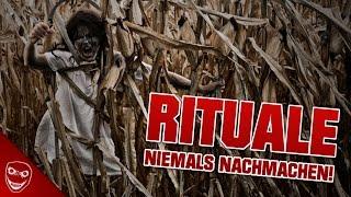 5 gruselige RITUALE, die ihr NIEMALS NACHMACHEN dürft!