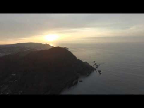 Hele Bay in Ilfracombe (DJI Phantom 3 Professional) (4K)