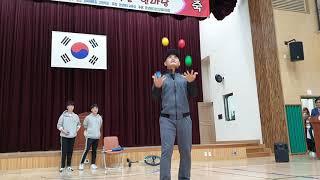 2019 경북학교스포츠 어우름 한마당 식전공연 저글링 …