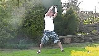 Sword Tricks Compilation - Tom Roach