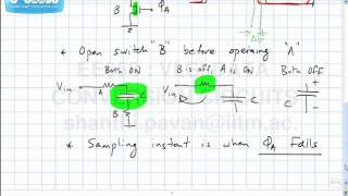 Lecture 7   Bottom Plate Sampling, The Gate Bootstrapped Switch