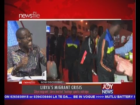 Libya's Migrant Crisis - Newsfile on JoyNews (2-12-17)