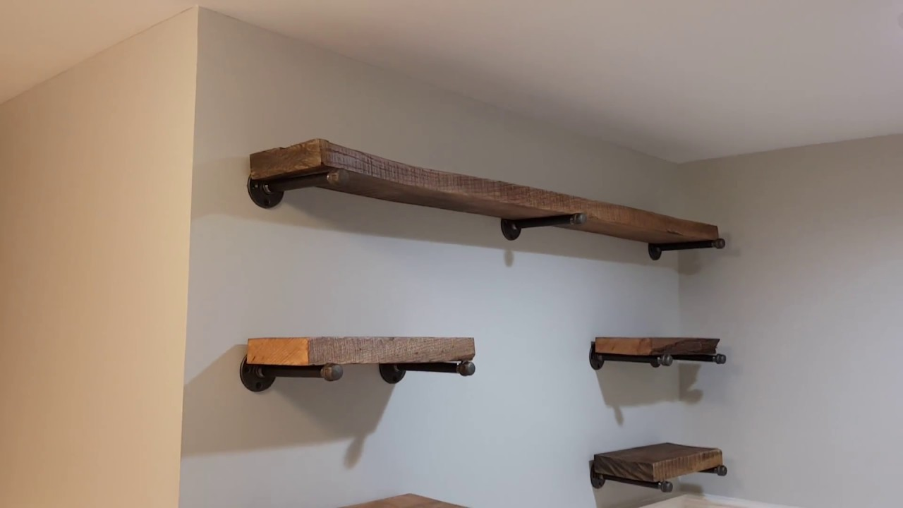 Decorative Rustic Shelves Short Video Youtube