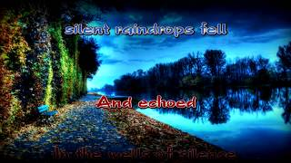 Simon & Garfunkel - The Sound of Silence Karaoke HD