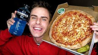 PAPA JOHN'S PIZZA MUKBANG! 2AM Eating Show