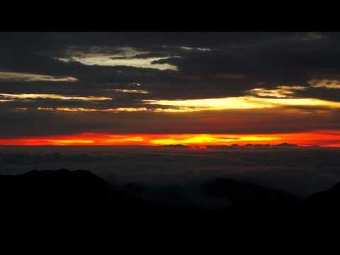 Haleakalā Crater Sunrise - September 28th, 2011