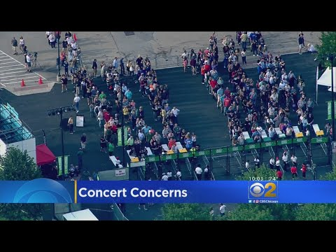 Security Evident At Northerly Island Concert