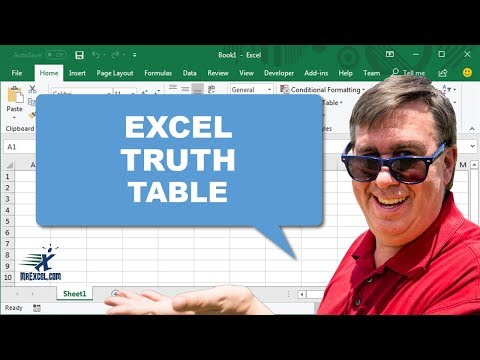 "Learn Excel 2010 - ""Bonus Formula, Truth Table, AND() NOT()"": Podcast #1639"