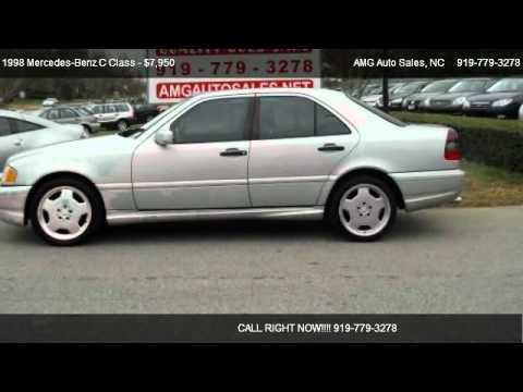 1998 mercedes benz c class c43 amg for sale in raleigh for 1998 mercedes benz c43 amg for sale