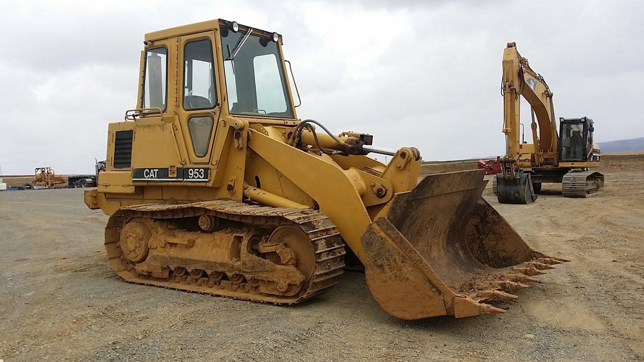1985 Cat 953 crawler loader