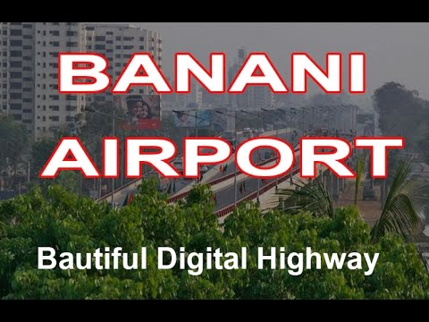 Beautiful Dhaka - Banani to Airport Digital Road