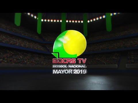 Los Santos vs Bocas - Beisbol Nacional Mayor 2019