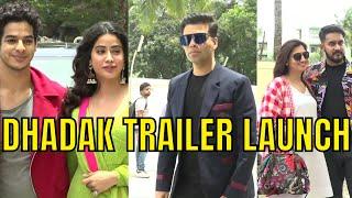 Dhadak Trailer Launch   Ishaan Khatter, Janhvi Kapoor   Karan Johar