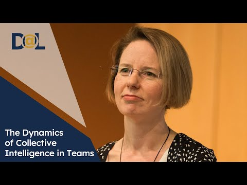 Design@Large: Anita Woolley: The Dynamics of Collective Intelligence in Teams