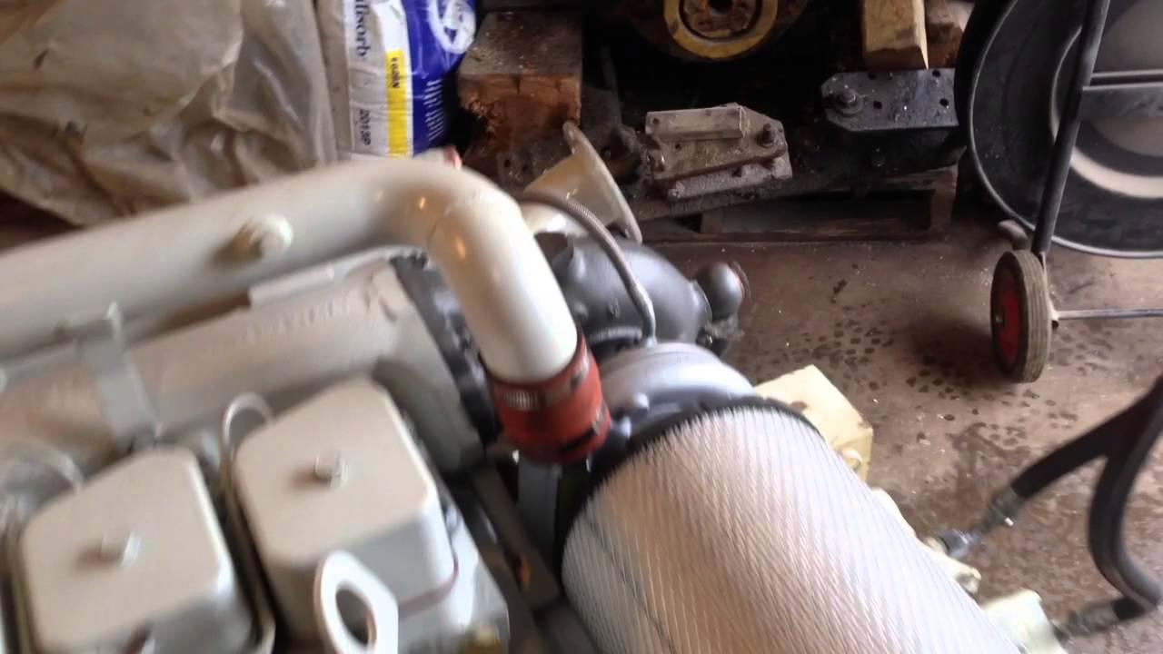 Cummins 6BTA marine diesel 250 hp engine