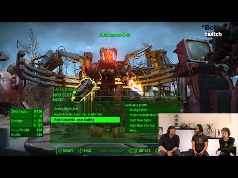 Bethesda Plays Fallout 4 - Automatron (Developer Walkthrough)