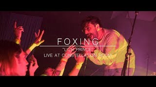 """Foxing - """"Lich Prince"""" (Live Music Video @ Constellation Room)"""