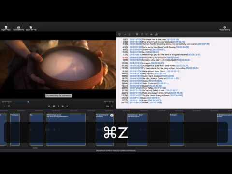 Subtitle Edit Pro Video Tutorial